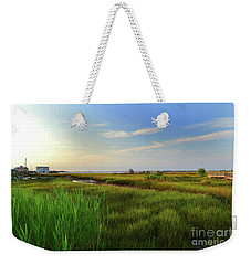 Southport Marsh Sunrise Weekender Tote Bag