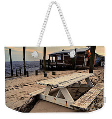 Southport Picnic Table Weekender Tote Bag