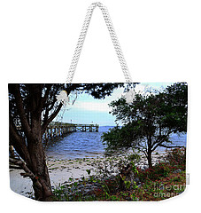 Southport Pier And Shoreline Weekender Tote Bag