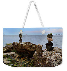 Southport Rock Art Weekender Tote Bag
