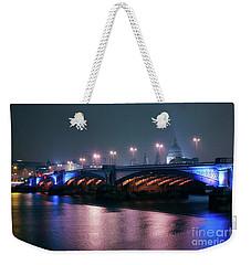Southwark Bridge Weekender Tote Bag