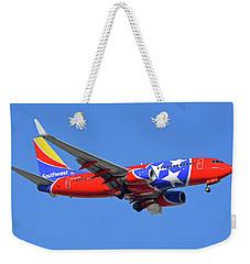 Southwest 737-7h4 N922wn Tennessee One Phoenix Sky Harbor November 28 2017 Weekender Tote Bag