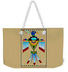 Southwest Bird Symbol Weekender Tote Bag