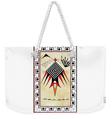 Southwest Bird Weekender Tote Bag