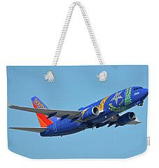 Southwest Boeing 737-7h4 N727sw Nevada One Phoenix Sky Harbor October 14 2017 Weekender Tote Bag