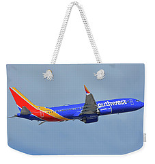 Southwest Boeing 737-8 Max N8708q Phoenix Sky Harbor October 10 2017 Weekender Tote Bag