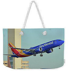 Southwest Boeing 737-8 Max N8709q Phoenix Sky Harbor October 2 2017 Weekender Tote Bag