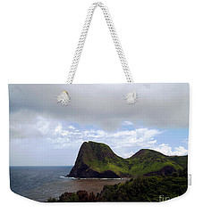 Weekender Tote Bag featuring the photograph Southwest Coast Of Maui by Patricia Griffin Brett