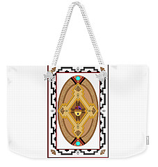 Southwest Collection - Oval Design Weekender Tote Bag