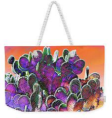 Southwest Desert Cactus Weekender Tote Bag