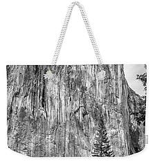Southwest Face Of El Capitan From Yosemite Valley Weekender Tote Bag
