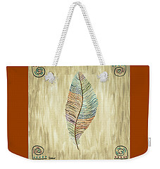 Southwest Feather Weekender Tote Bag