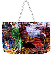 Southwest Weekender Tote Bag by Judi Saunders