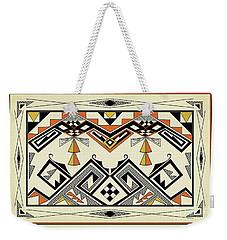 Southwest Pattern Weekender Tote Bag