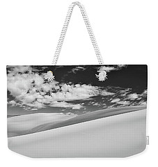 Southwest Sands Of Colorado In Black And White Weekender Tote Bag
