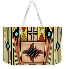 Southwest Vase Weekender Tote Bag