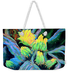 Southwesterly Cactus Impression Of.....sold Weekender Tote Bag by Antonia Citrino