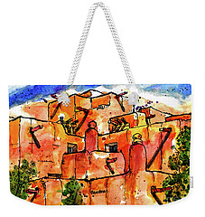 Southwestern Architecture Weekender Tote Bag