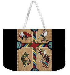 Southwestern Cross Weekender Tote Bag