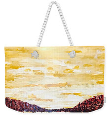 Southwestern Mountain Range Weekender Tote Bag