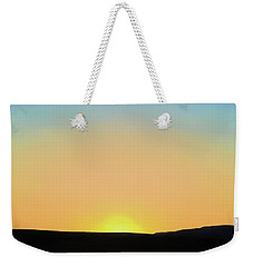 Weekender Tote Bag featuring the photograph Southwestern Sunset by David Gordon