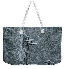 Southworth Windmill Snow Bound Weekender Tote Bag