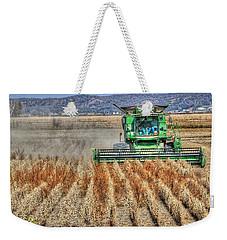 Soybean Harvest Fremont County Iowa Weekender Tote Bag