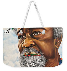 Soyinka An African Literary Icon Weekender Tote Bag