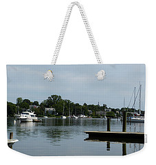 Spa Creek From The Park  Weekender Tote Bag by Donald C Morgan
