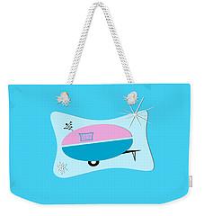 Space Age Camper Weekender Tote Bag