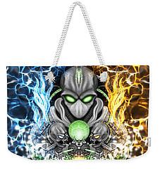 Space Alien Time Machine Fantasy Art Weekender Tote Bag