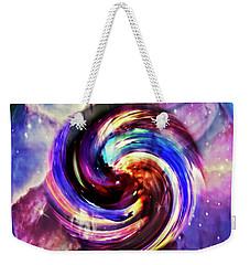 Space And Time Weekender Tote Bag