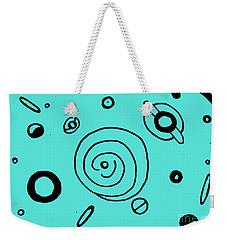 Space Doodle Weekender Tote Bag