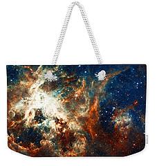 Space Fire Weekender Tote Bag