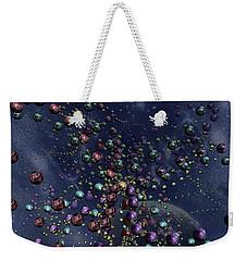 Space Geometry Weekender Tote Bag