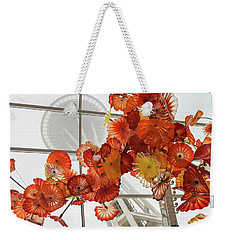 Space Needle And Chihuly Weekender Tote Bag