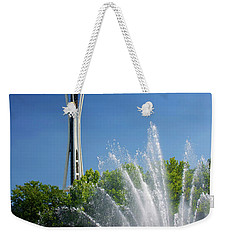 Space Needle In Seattle Weekender Tote Bag