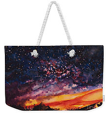 Space Oddity  Weekender Tote Bag