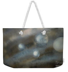 Weekender Tote Bag featuring the mixed media Space One by Stacy C Bottoms