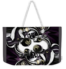 Space Or Expression Weekender Tote Bag