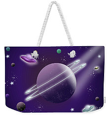 Space Travel Weekender Tote Bag