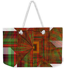 Space Tunnel  Weekender Tote Bag by Thibault Toussaint