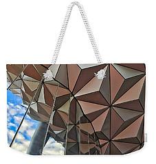 Spaceship Earth And Sky Weekender Tote Bag