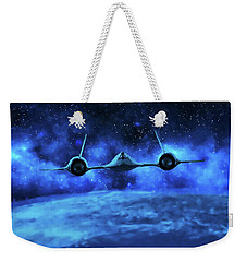 Spaceward Weekender Tote Bag