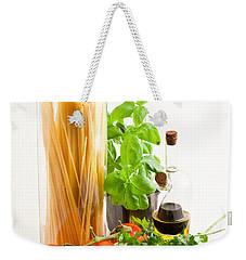 Spaghetti Weekender Tote Bag