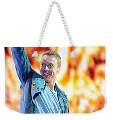 Coldplay4 Weekender Tote Bag by Rafa Rivas