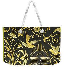 Spanish Artistic Birds Weekender Tote Bag