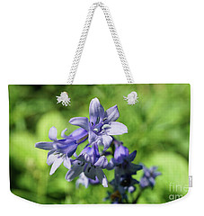 Spanish Bluebell Weekender Tote Bag