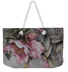 Spanish Camellias Weekender Tote Bag
