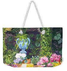 Spanish Courtyard Weekender Tote Bag